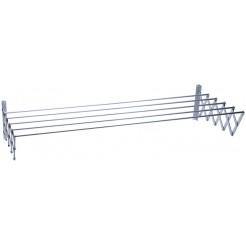 Protenrop Uittrekbaar aluminium droogrek (160x70)